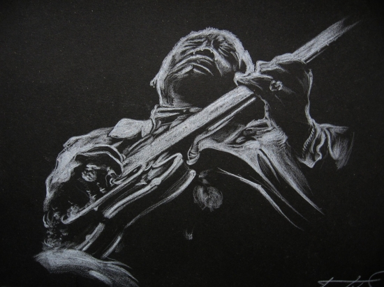 B.B. King by Lampert